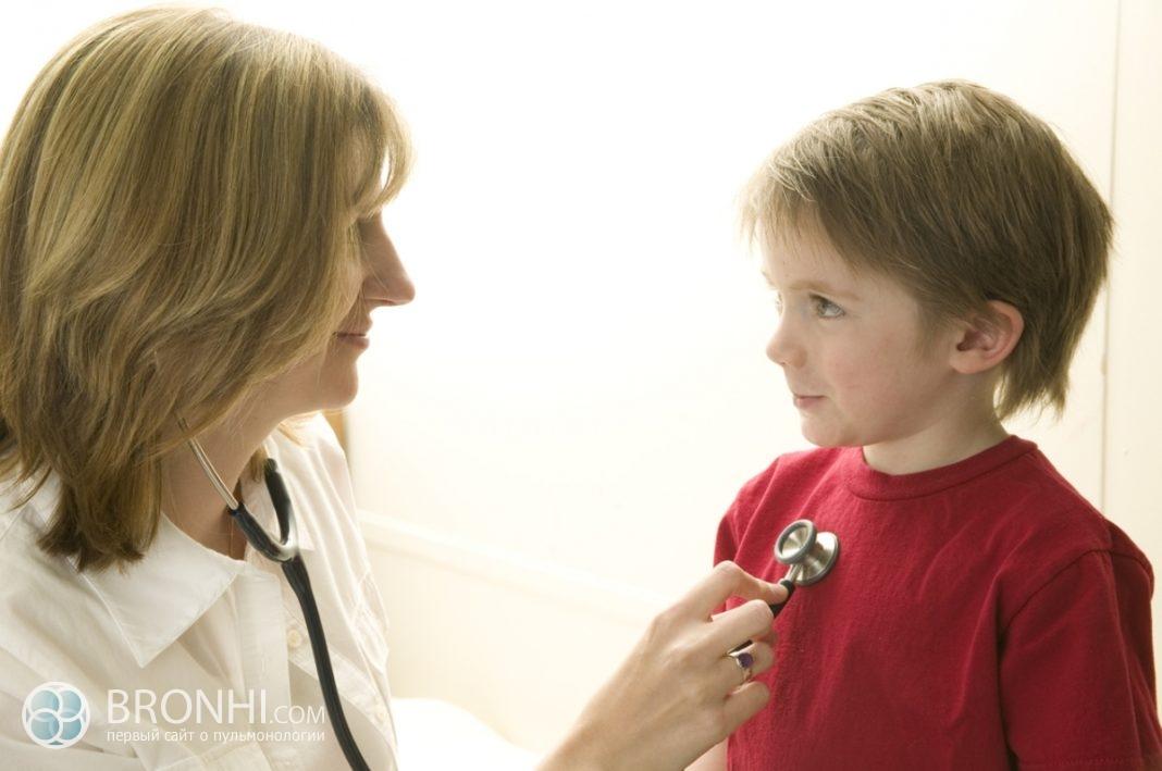 Бактериальный бронхит у детей