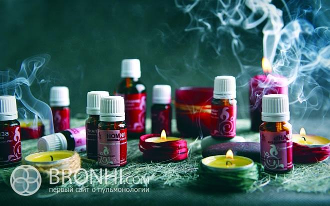 Эфирные масла в лечении бронхита