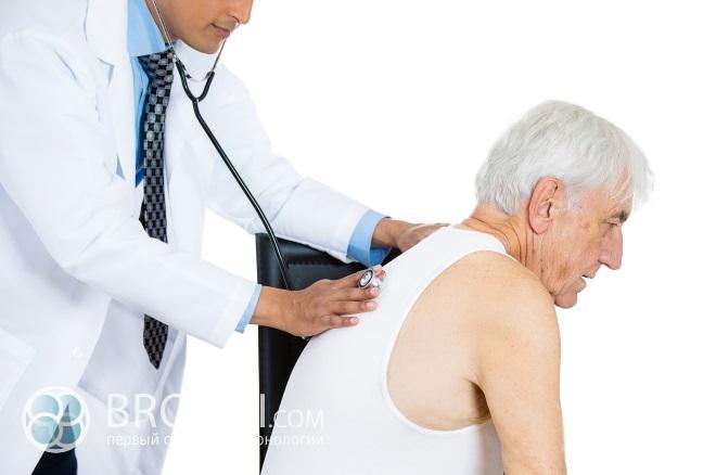 Фактор риска для пожилых людей – застойная пневмония