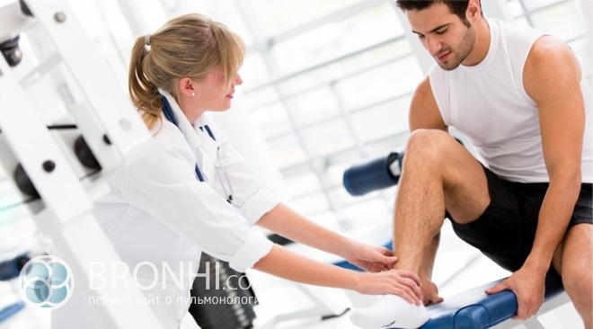 Лечебная физкультура – как она действует на бронхит?