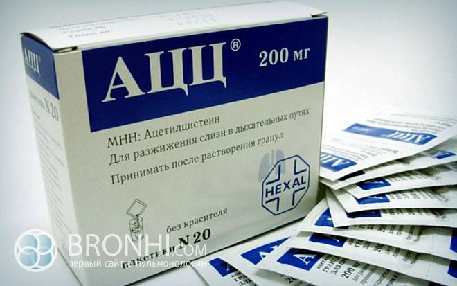 Препараты для разжижения мокроты